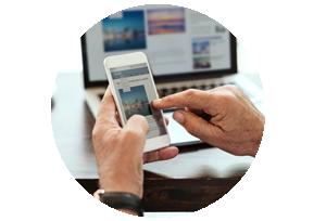 Webseiten und Apps